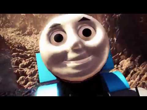 Thomas the Tank Engine is finally where he should be