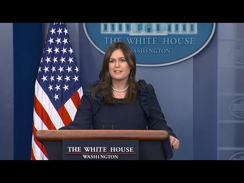White House press briefing President Trump's response to Rob Porter allegations | ABC News