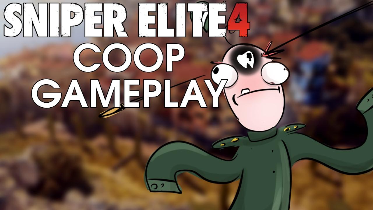 Sniper Elite 4 - Coop Gameplay auf Authentisch (Hardcore)