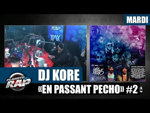 Youtube: Planète Rap – Dj Kore«En passant pécho» avec Sadek, Ashe 22, Gazo, Stavo et WeRenoi #Mardi