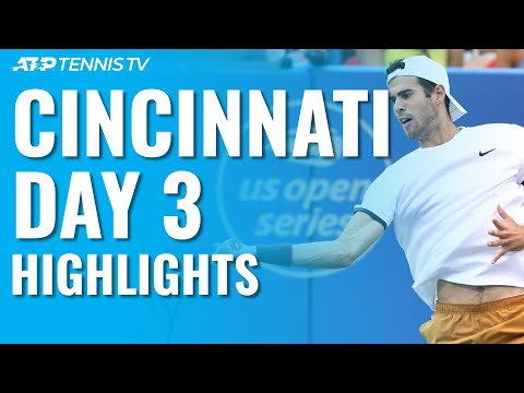Struff Stuns Tsitsipas; Khachanov, Nishioka Advance | Cincinnati 2019 Day 3 Highlights