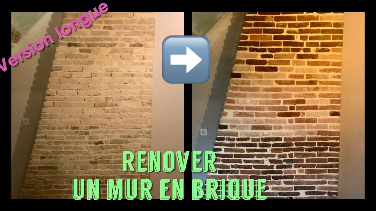 Comment Rénover Un Mur En Brique En Un Week End
