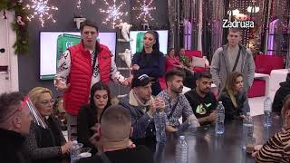 Zadruga 4 - Kristijan i Tomoviće se posvađali zbog Maje i Čorbe  - 21.01.2021.