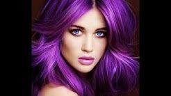 25 Beautiful Purple Hair Color Ideas