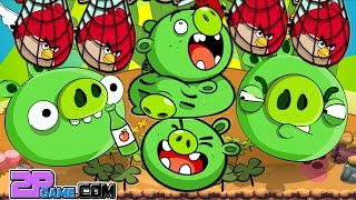 Angry Birds Ending World! BAD PIGGIES ROBOT CATCH ALL R.I.P ANGRY BIRDS
