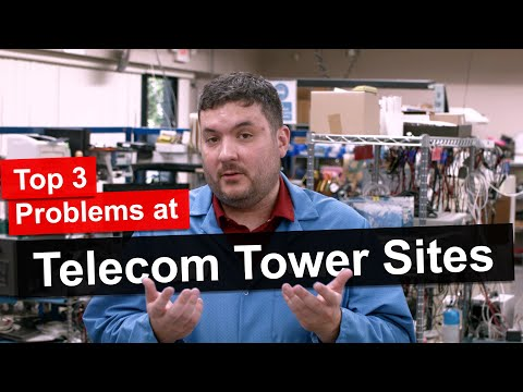 Top 3 Problems At Telecom Tower Sites