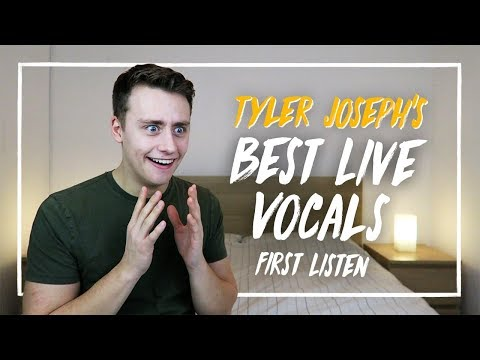 Listening To TYLER JOSEPH'S BEST LIVE VOCALS For The FIRST TIME | Reaction
