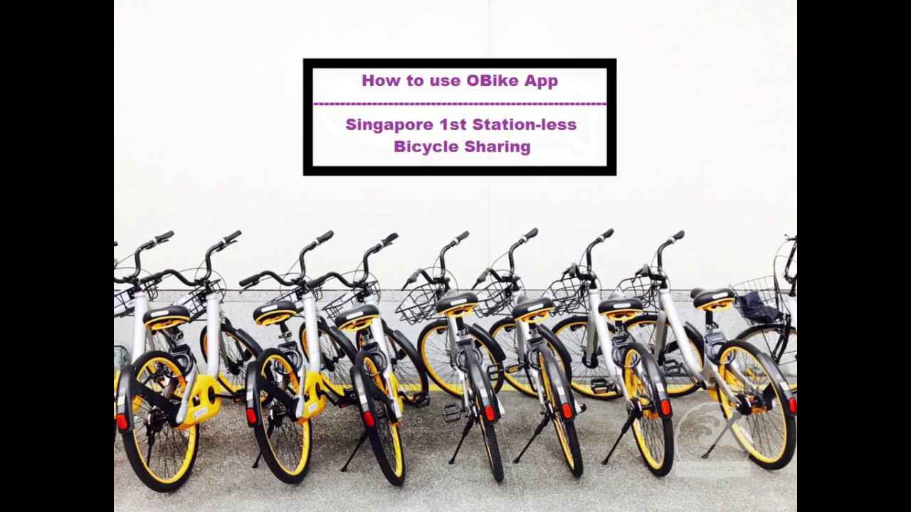 How To Use Obike App ( Stationless Bicycle Sharing)