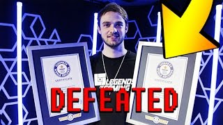 i BEAT ONE OF ALi-A 's MiNECRAFT WORLD RECORDS
