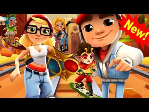 Subway SURFERS WORLD TOURS 2018 💞💓💔 UNLOCKING JAKE WITH HIS FIRST GAME PLAY ON PC