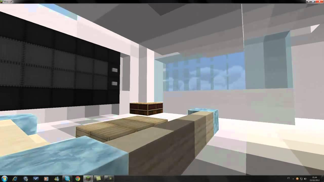 Pruzak Com Como Fazer Uma Sala De Estar Moderna No Minecraft