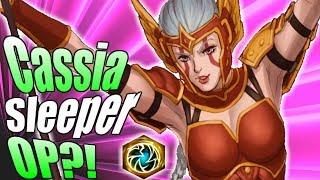 HOTS Cassia *MVP* Gameplay! Is Cassia Sleeper OP?! Cassia Balance Update Details | Cassia Q build