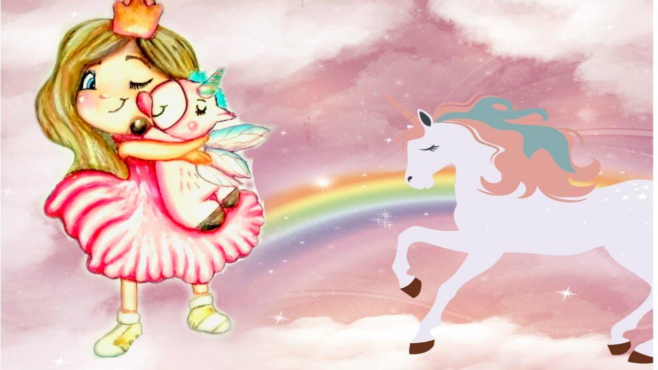Пряник-топпер Принцесса с Единорогом. МК. Заливка и ...