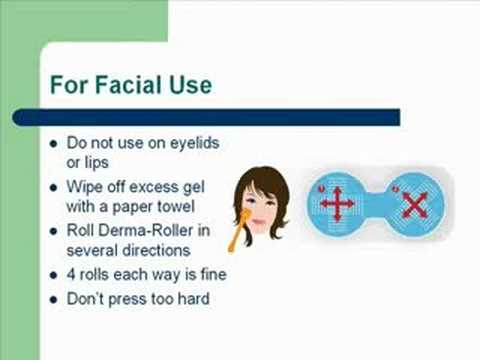 Derma Roller Instructions - How to Use a Dermaroller