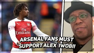 Arsenal Fans Need To Get Behind Alex Iwobi | Wrighty Reacts