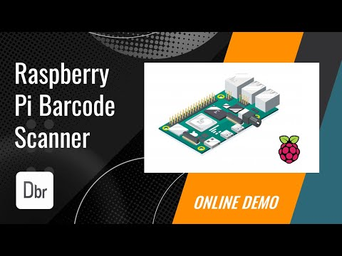 Barcode Scanner with Webcam and Raspberry Pi