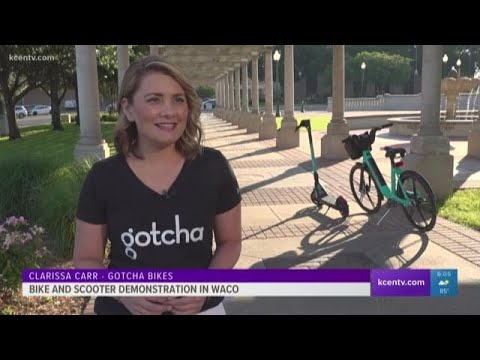 Bike, scooter demonstration hits Waco