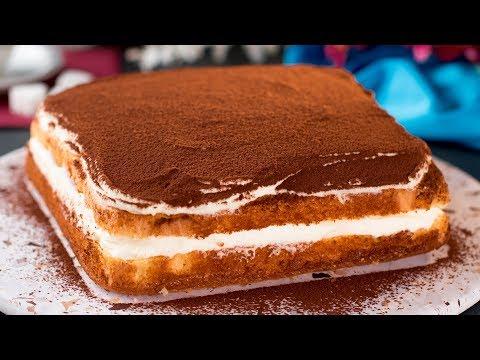 Творожный торт -  4 яйца, 200 г творога, 120 г сахара и немного ловкости рук. | Appetitno.TV