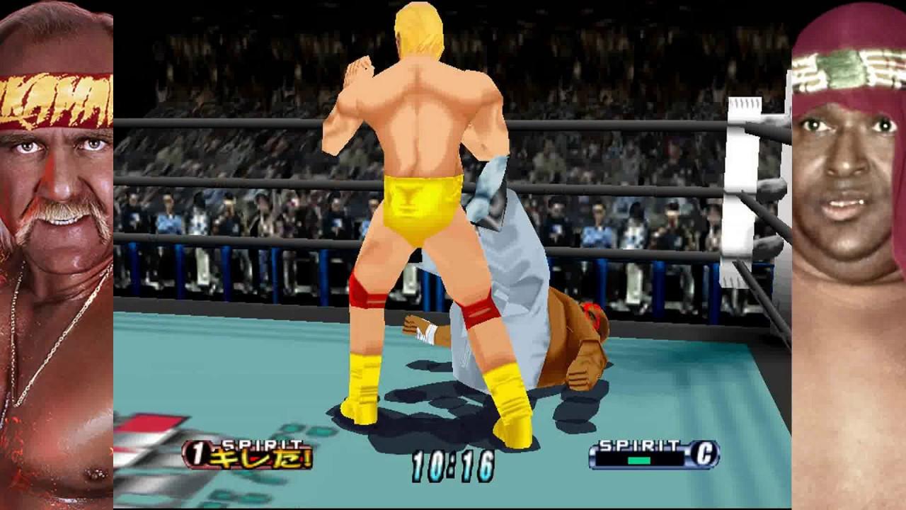 Virtual Pro Wrestling 64 Hulk Hogan Vs Abdullah The Butcher Youtube