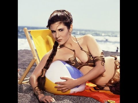 star leia naked wars