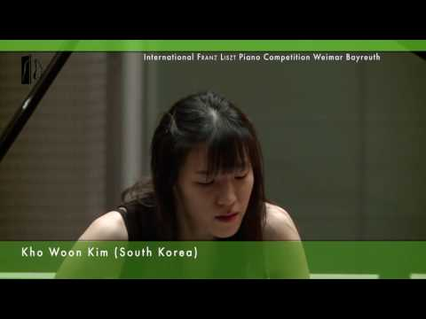 Kho Woon Kim plays Rossini / Liszt: Wilhelm Tell Ouverture Piano Competition 2nd Round