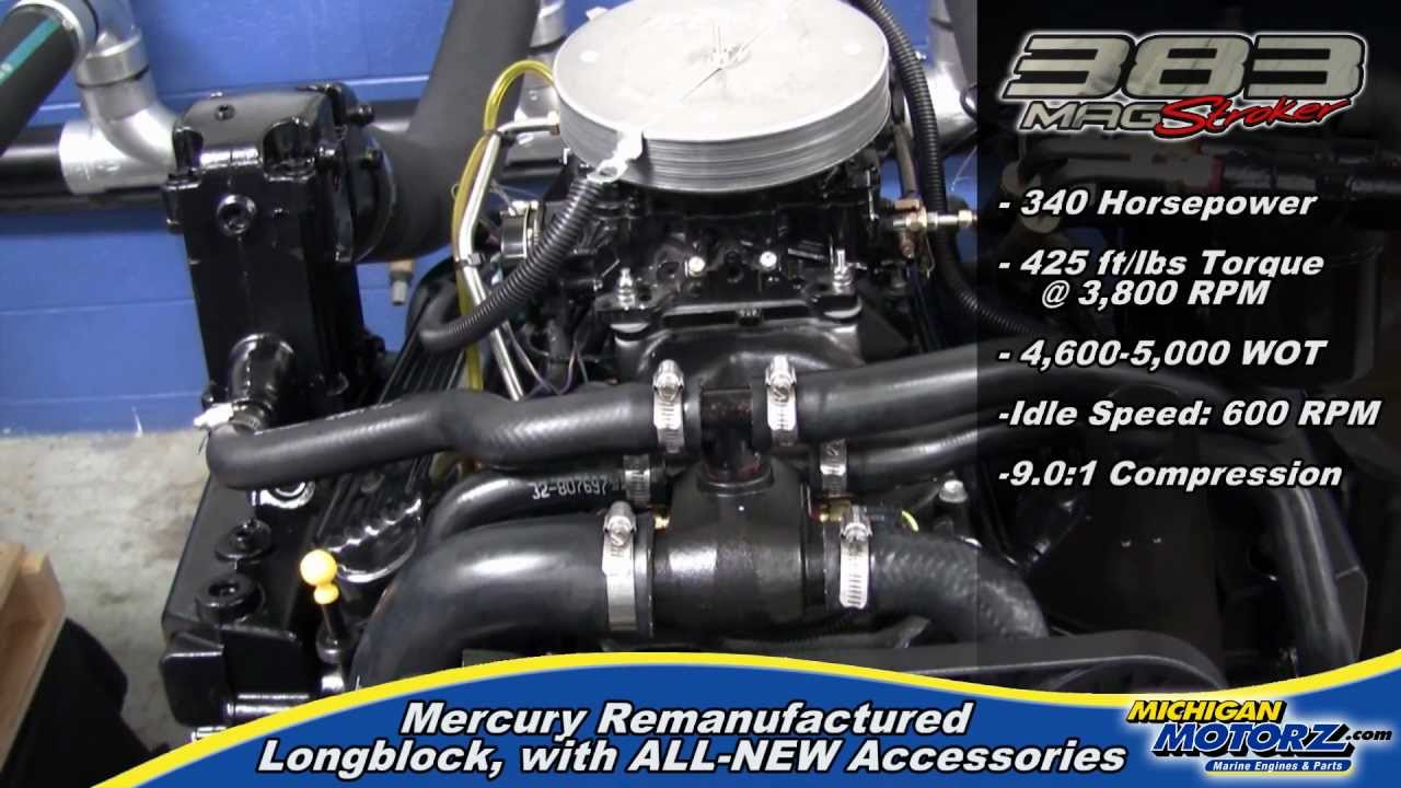Mercrusier 383 Mag Stroker Inboard Engines Standard