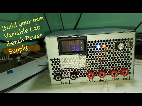 Make Your Own Variable Lab Bench Power Supply Creative Electronics