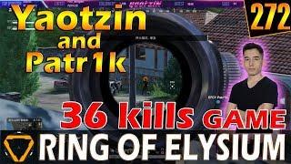 Gambar cover Yaotzin & Patr1k | 36 kills | ROE (Ring of Elysium) | G272