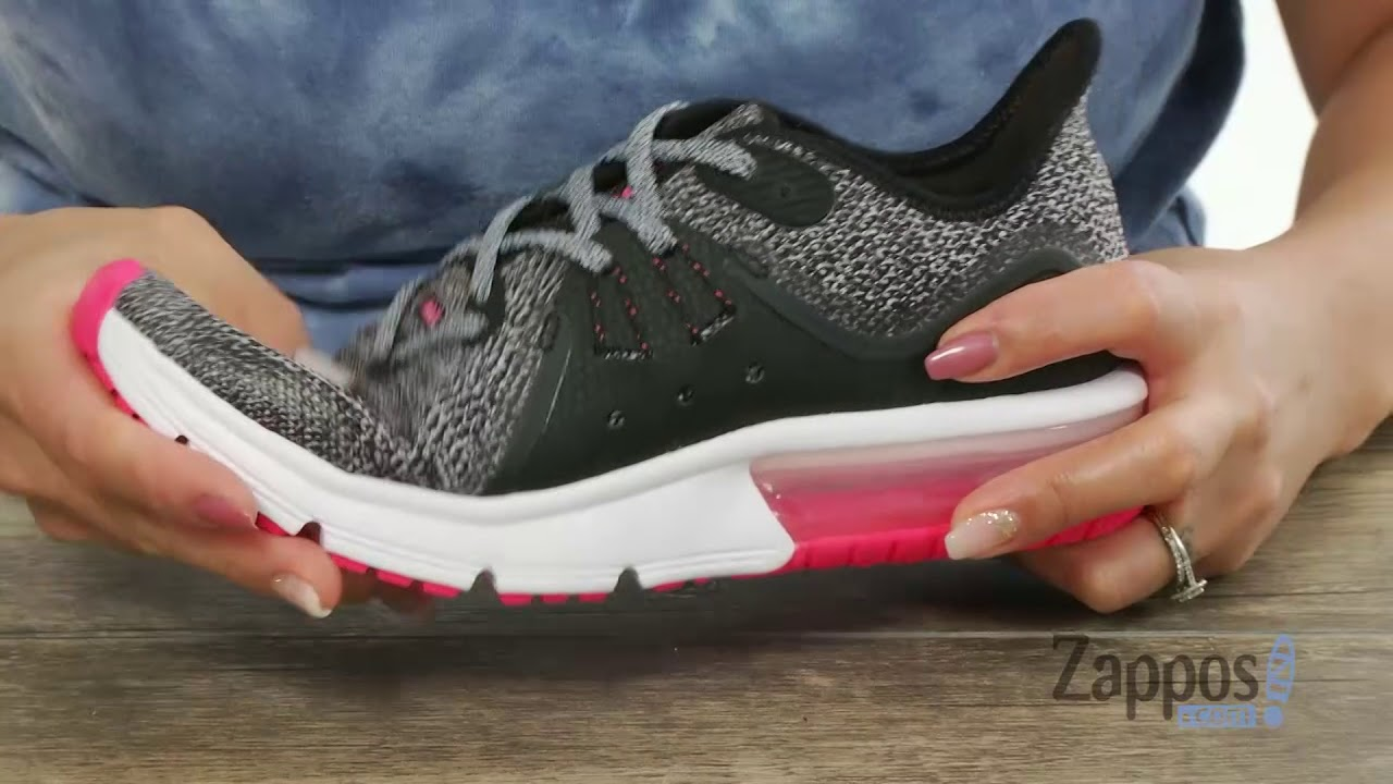 51e3390ac6 Nike Kids Air Max Sequent 3 (Big Kid) SKU: 8937614 - YouTube