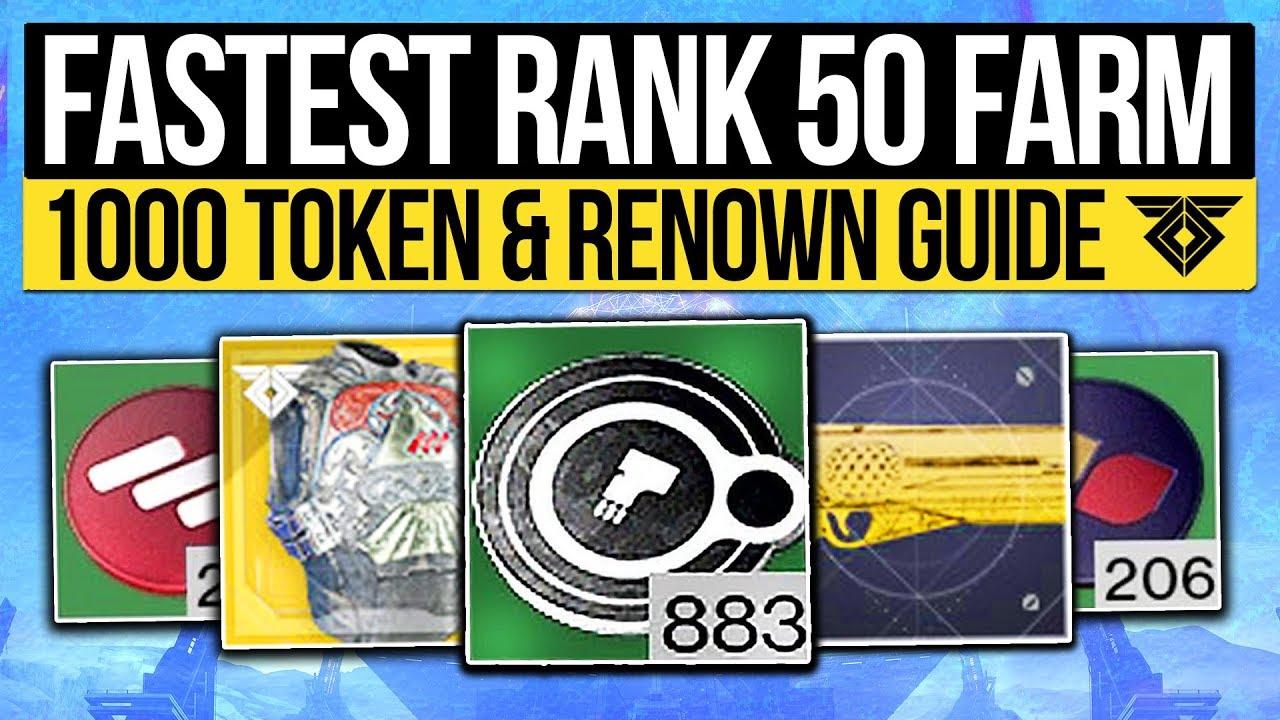best way to farm faction tokens destiny 2 2019 Destiny 2   FAST FACTION TOKEN FARM!   Easy Rank 50 Farming Method