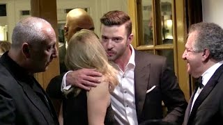 EXCLUSIVE: Justin Timberlake and Anna Kendricks having dinner at Tetou restaurant in Cannes