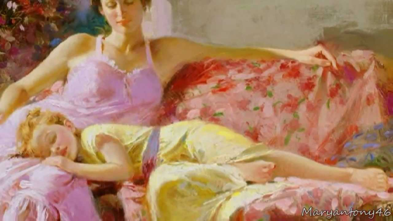 Pino Daeni (Italian Painter) - YouTube