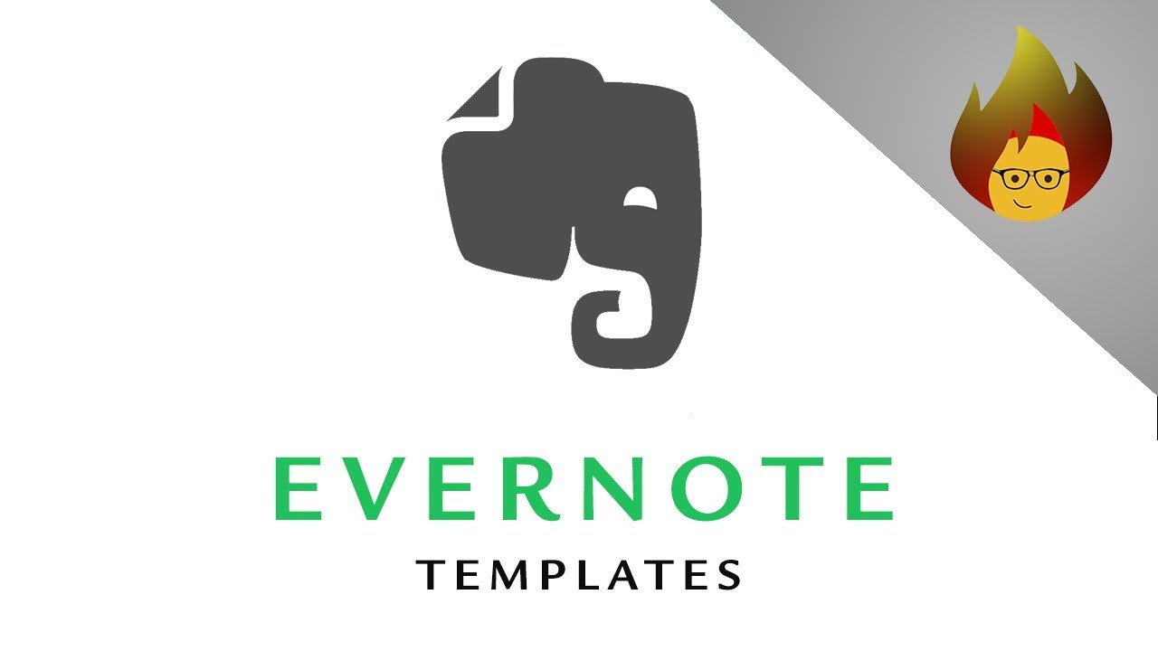 Evernote Templates How To Create Them Yourself Evernote Pc Youtube