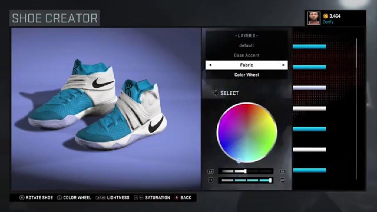 newest dd8c8 4cebe NBA 2K16 Shoe Creator - Nike Kyrie 2