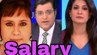 Video Salary Of India's Top News Anchors | Anjana Om Kashyap | Arnab Goswami |  Sudhir Chaudhary | download MP3, 3GP, MP4, WEBM, AVI, FLV Juli 2018
