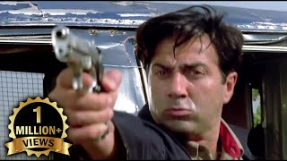 Sunny Deol V/S Jackie Shroff Extreme Action Fight Scene - Farz Movie