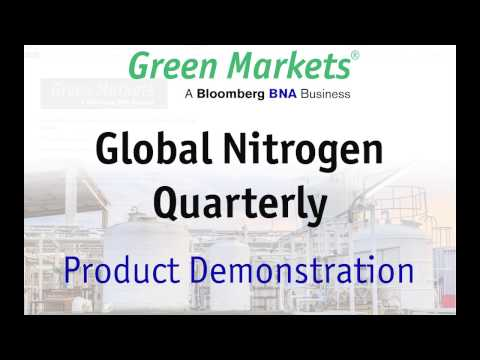 Global Nitrogen Quarterly: Supply & Demand, Production Costs and Pricing