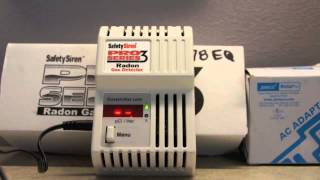 Setting Up and Running Radon Gas Detector