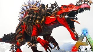 Ark Survival Evolved - NEW TLC EPIC ARMORED SPINO TAMING! (68) - ARK: Annunaki