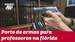 Florida permite porte de armas para professores