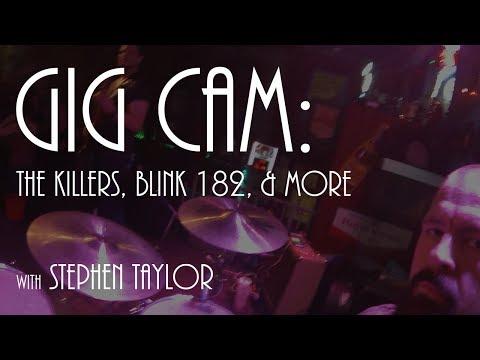 Gig Cam: The Killers, Blink 182, & more