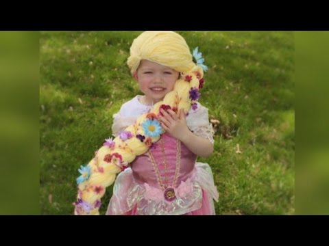 Thumbnail: Mom Creates Magical Yarn Princess Wigs For Little Girls Going Through Chemo