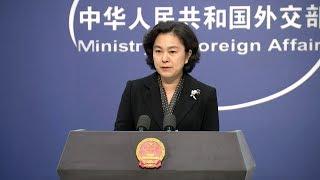China suspends visits by U.S. warships to Hong Kong