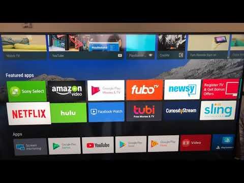 How To Put Kodi 18 On Sony Bravia TV 📺 & Xenon Build 19.6