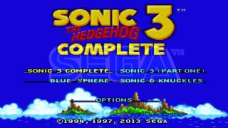 "Sonic 3 Complete Music: Carnival Night Zone Act 2 ""PC version"" Genesis Ported"