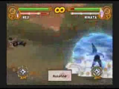 Naruto: UN3 Request - Neji Moveset