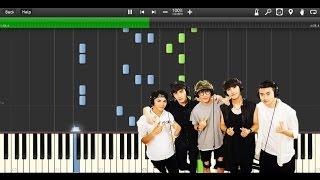 微微一笑很倾城 《一笑倾城》 A Smile is Beautiful OST - Love O2O (Piano Synthesia+Sheet+Tutorial)