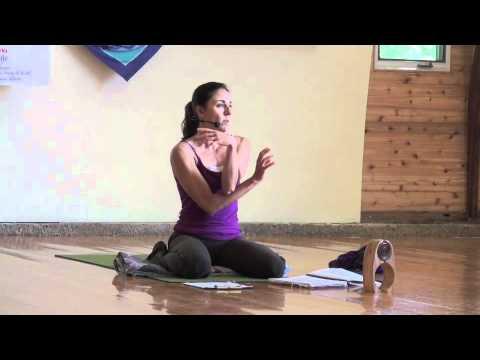 yoga teacher training segment with indira founder of