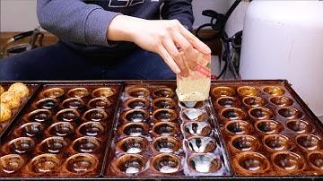 주전자 반죽 타코야끼 - 제주 왕타코야끼, 트럭 타코야끼 / 길거리 음식 / Kettle dough takoyaki / korean street food