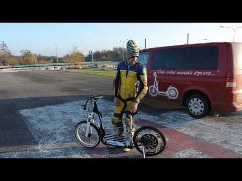 Electric Scooter ElektrokolobĚŽka Doovi